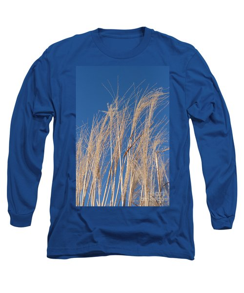 Long Sleeve T-Shirt featuring the photograph Blowing In The Wind by Barbara McMahon