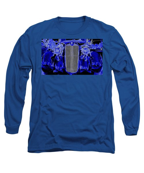 Blue Coupe Long Sleeve T-Shirt by J R Seymour