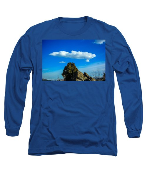 Long Sleeve T-Shirt featuring the photograph Blue Skies by Shannon Harrington
