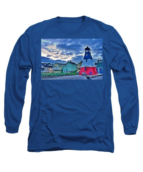 Long Sleeve T-Shirt featuring the photograph Cheticamp In Cape Breton Nova Scotia by Joe  Ng
