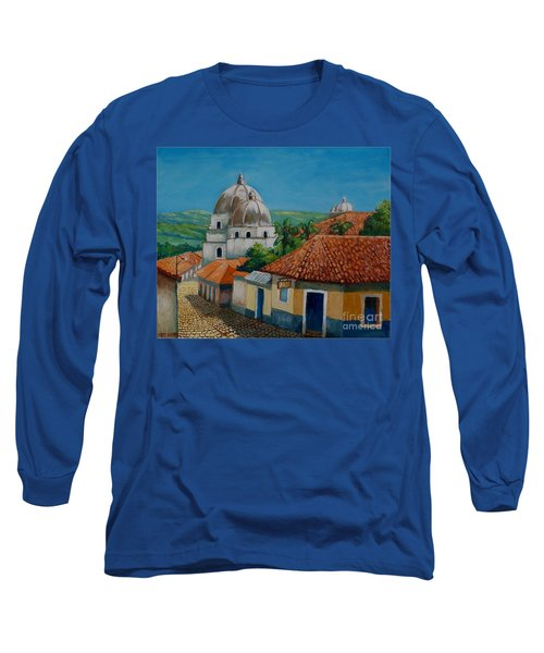 Church Of Pespire In Honduras Long Sleeve T-Shirt