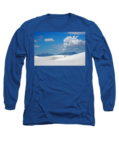 Clouds Over The White Sands Long Sleeve T-Shirt