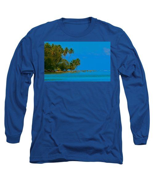 Long Sleeve T-Shirt featuring the photograph Coconuts Anyone by Eric Tressler