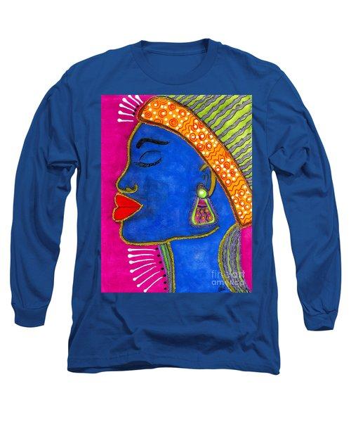 Color Me Vibrant Long Sleeve T-Shirt