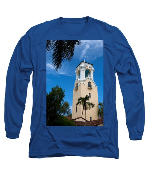 Long Sleeve T-Shirt featuring the photograph Congregational Church Of Coral Gables by Ed Gleichman