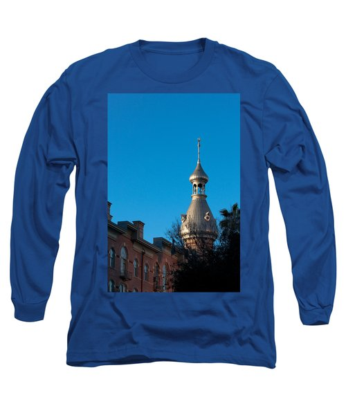 Long Sleeve T-Shirt featuring the photograph Facade And Minaret by Ed Gleichman
