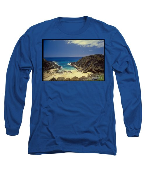 From Here To Eternity Beach Long Sleeve T-Shirt by Mark Gilman