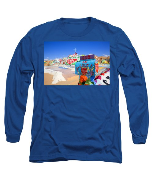 Long Sleeve T-Shirt featuring the photograph God's Mailbox by Hugh Smith