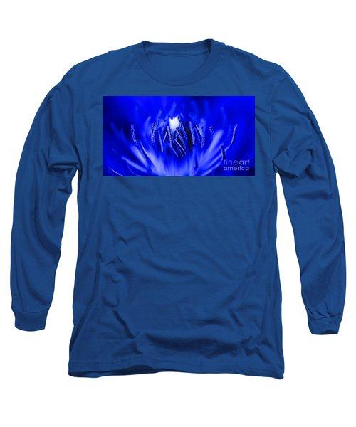 Inside A Flower Long Sleeve T-Shirt by Henrik Lehnerer