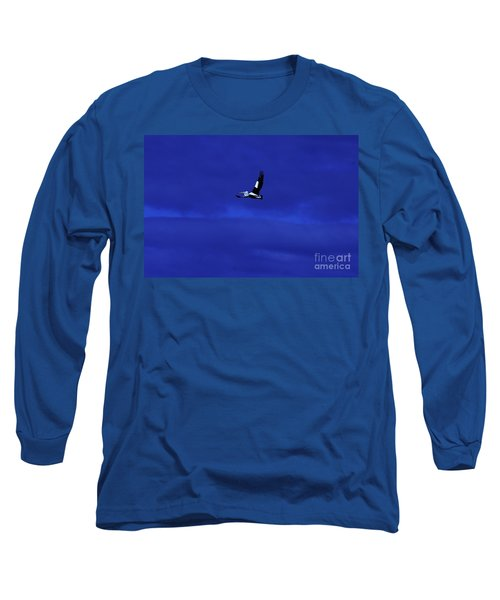 Long Sleeve T-Shirt featuring the photograph Into The Blue by Blair Stuart