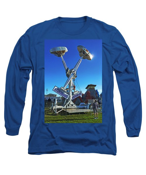 Long Sleeve T-Shirt featuring the photograph Into The Blue by Steve Taylor