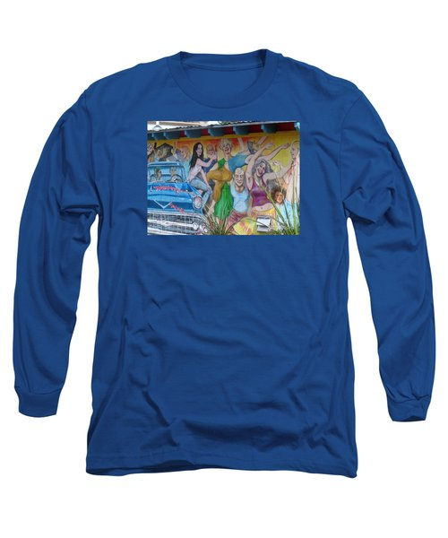 Long Sleeve T-Shirt featuring the photograph Keeping It Weird In Austin by Patti Whitten
