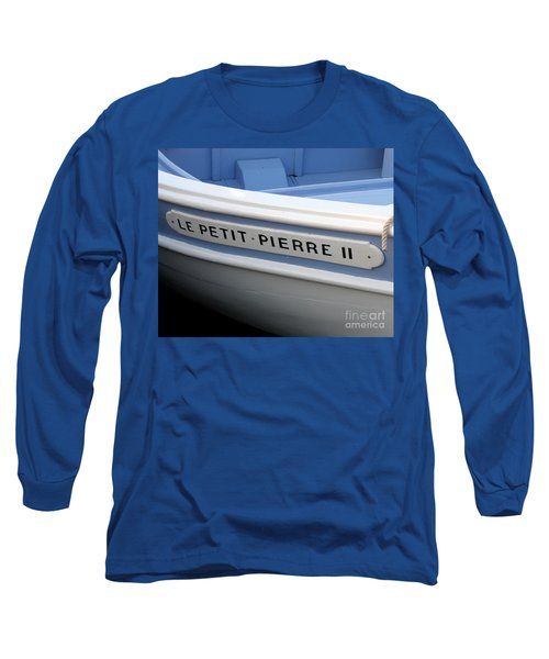 Long Sleeve T-Shirt featuring the photograph Le Petit Pierre II by Lainie Wrightson