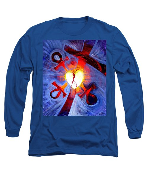 Love - In Three ... For All Long Sleeve T-Shirt