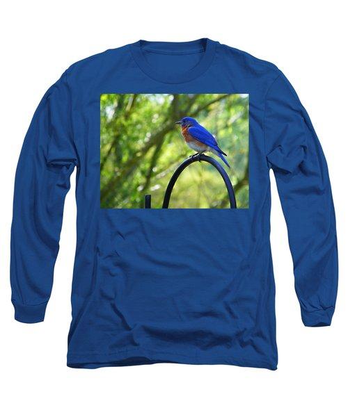Mr Bluebird Long Sleeve T-Shirt