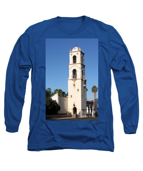 Long Sleeve T-Shirt featuring the photograph Ojai Post Office Tower by Henrik Lehnerer
