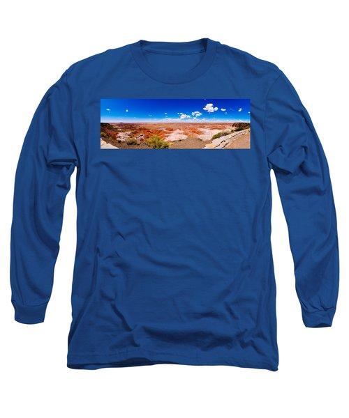Painted Desert Panorama Long Sleeve T-Shirt