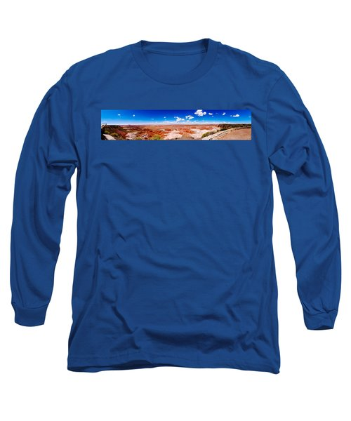 Painted Desert Wide Panorama Long Sleeve T-Shirt