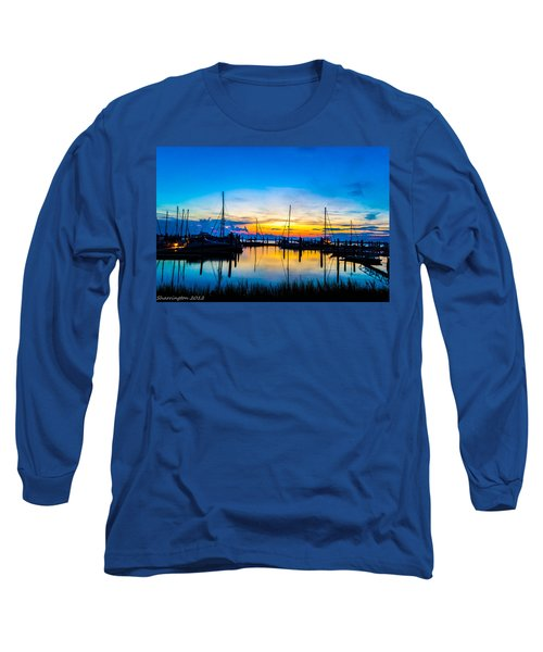 Peacefull Sunset Long Sleeve T-Shirt