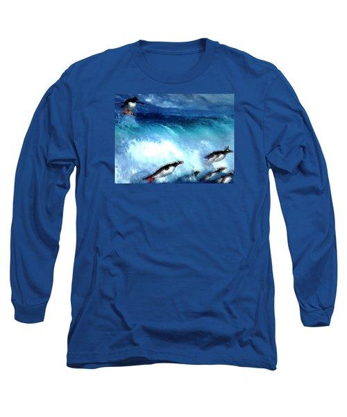Penquin Play Long Sleeve T-Shirt