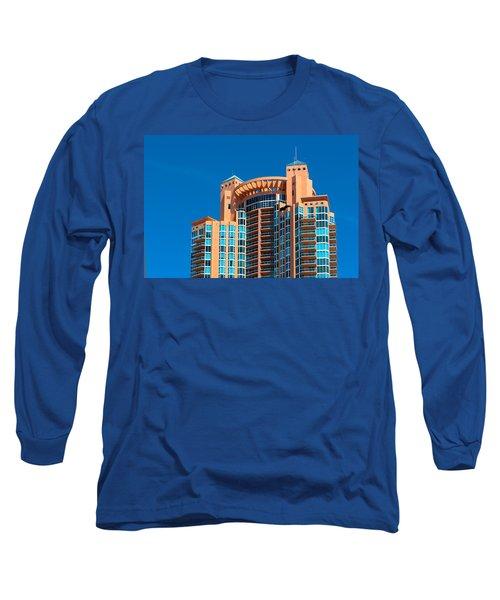 Portofino Tower At Miami Beach Long Sleeve T-Shirt