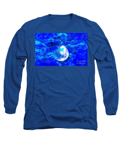 Long Sleeve T-Shirt featuring the digital art Prophecy - The Second Coming Of The Lord by Fania Simon