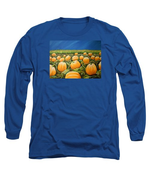 Pumpkin Patch Long Sleeve T-Shirt