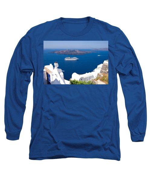 Santorini Cruising Long Sleeve T-Shirt