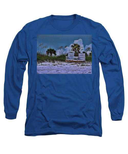 Seat On The Dunes Long Sleeve T-Shirt