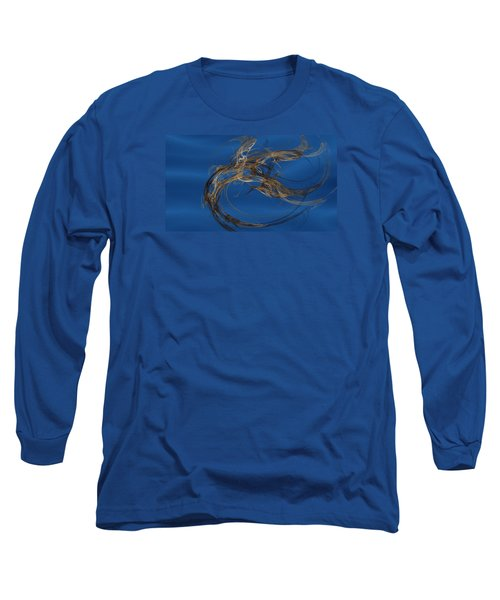 Long Sleeve T-Shirt featuring the digital art Selbstvertrauen by Jeff Iverson