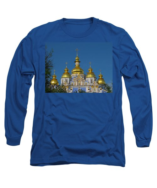 Long Sleeve T-Shirt featuring the photograph St. Michael's Cathedral by David Gleeson