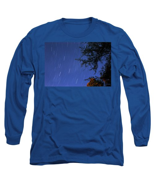Long Sleeve T-Shirt featuring the photograph Stars Falling by Kay Lovingood