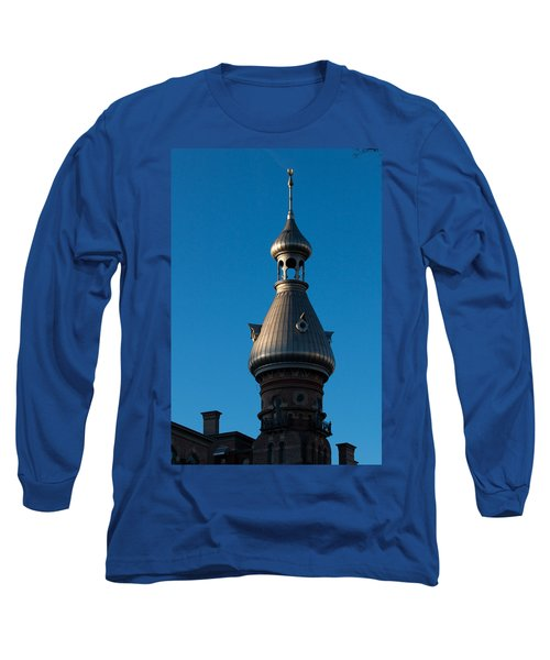 Long Sleeve T-Shirt featuring the photograph Tampa Bay Hotel Minaret by Ed Gleichman