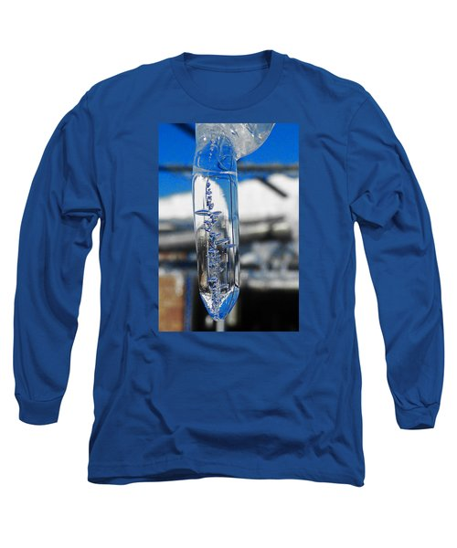 Long Sleeve T-Shirt featuring the photograph The Droop by Steve Taylor
