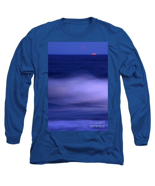 The Red Moon And The Sea Long Sleeve T-Shirt
