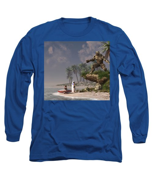 The Surf God   Long Sleeve T-Shirt