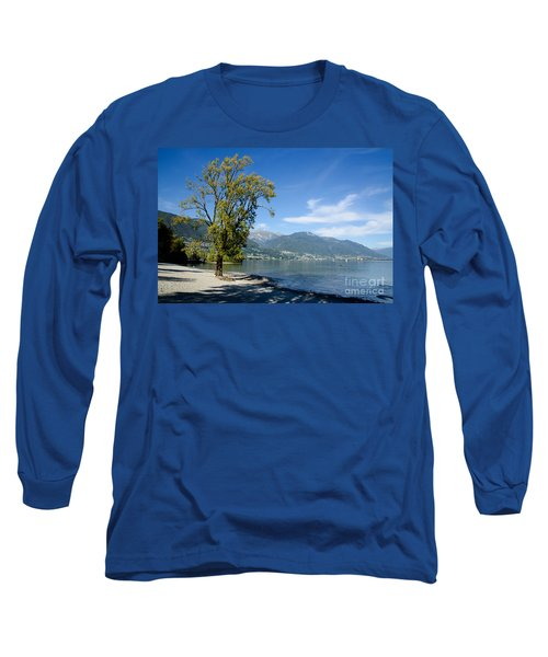 Tree On The Beach Long Sleeve T-Shirt