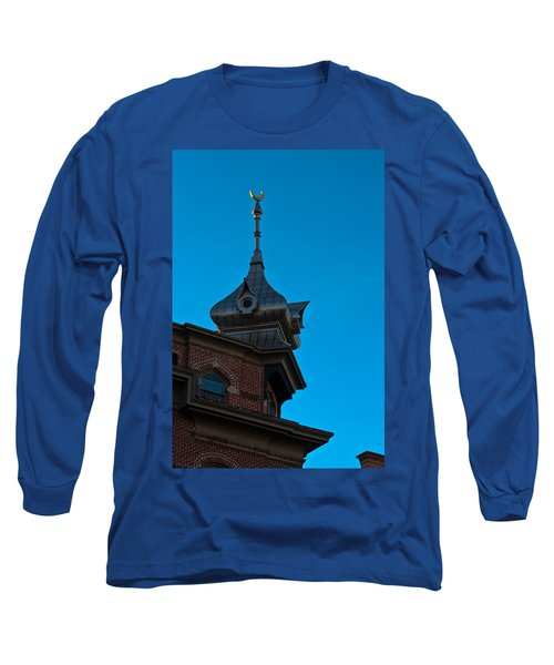 Long Sleeve T-Shirt featuring the photograph Turret At Tampa Bay Hotel by Ed Gleichman