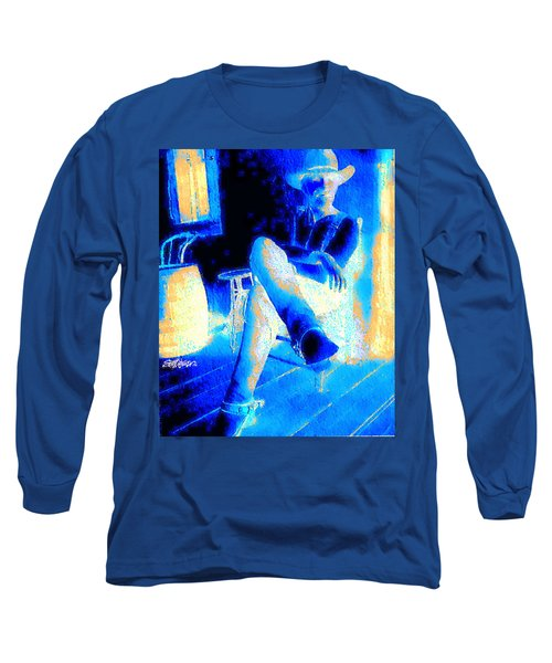 Long Sleeve T-Shirt featuring the photograph Waiting Up by Seth Weaver