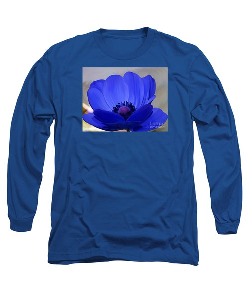 Windflower Long Sleeve T-Shirt by Patricia Griffin Brett