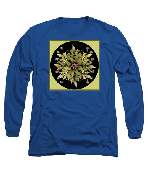 Winter Mandala Long Sleeve T-Shirt