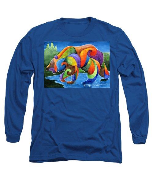 Zen Bear Long Sleeve T-Shirt