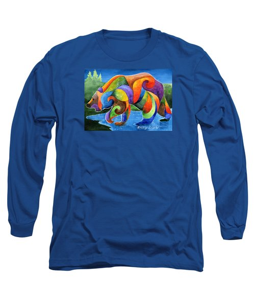 Zen Bear Long Sleeve T-Shirt
