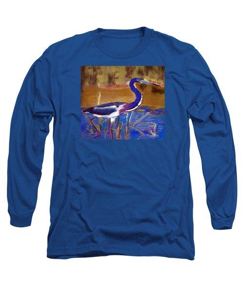 081315 Heron Long Sleeve T-Shirt by Garland Oldham