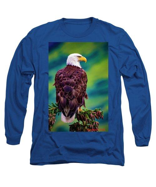 Alaska Bald Eagle Long Sleeve T-Shirt