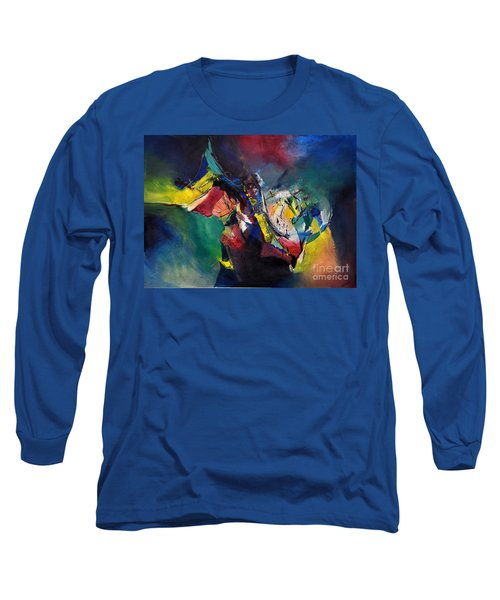 Aztec Man Long Sleeve T-Shirt