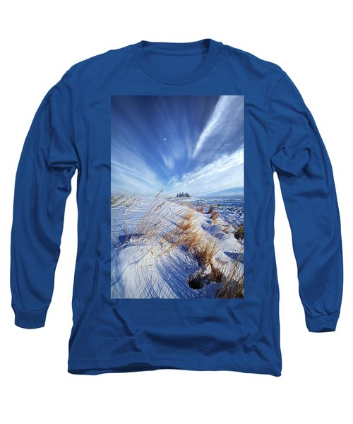 Long Sleeve T-Shirt featuring the photograph Azure by Phil Koch