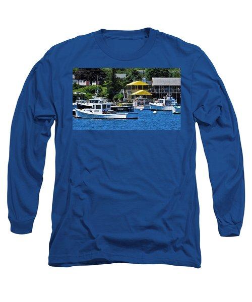 Bass Harbor Maine Long Sleeve T-Shirt