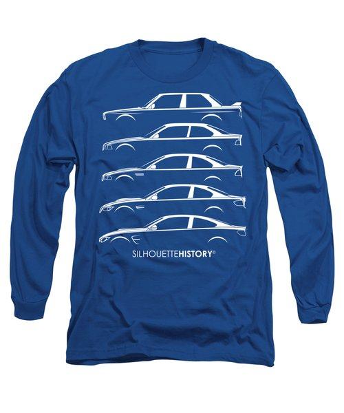 Bavarian M Three Silhouettehistory Long Sleeve T-Shirt