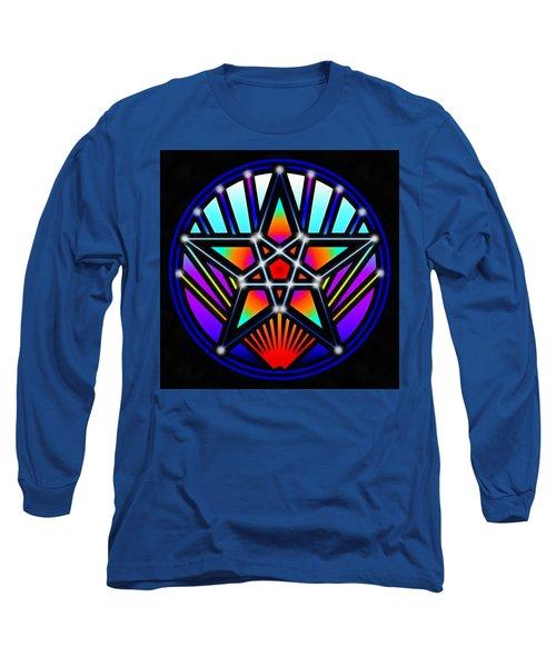 Long Sleeve T-Shirt featuring the digital art Bending Time by Derek Gedney